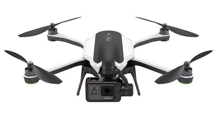 Skládací dron s GoPro kamerou