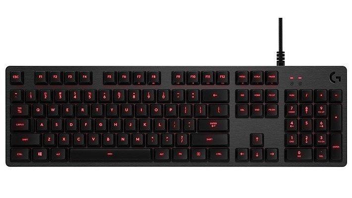 Tichá herní klávesnice